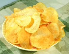 Utz Potato Chips, Onion & Garlic
