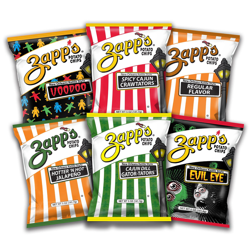 Zapp's Chip Variety Pack 6 Pack Best Sellers Online Exclusive Zapp's