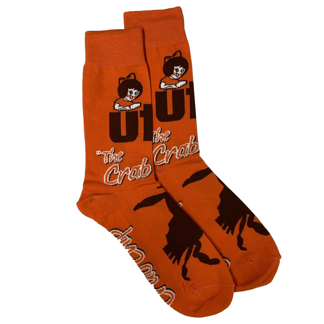 Utz Crab Chip Socks Gear And Novelties Utz Adult