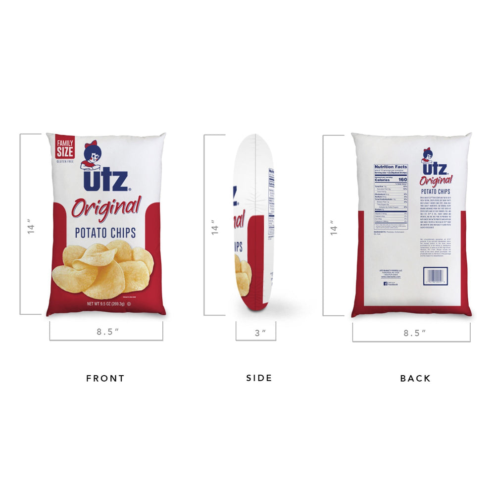 The Utz Original Chip Pillow Gear And Novelties Utz Quality Foods