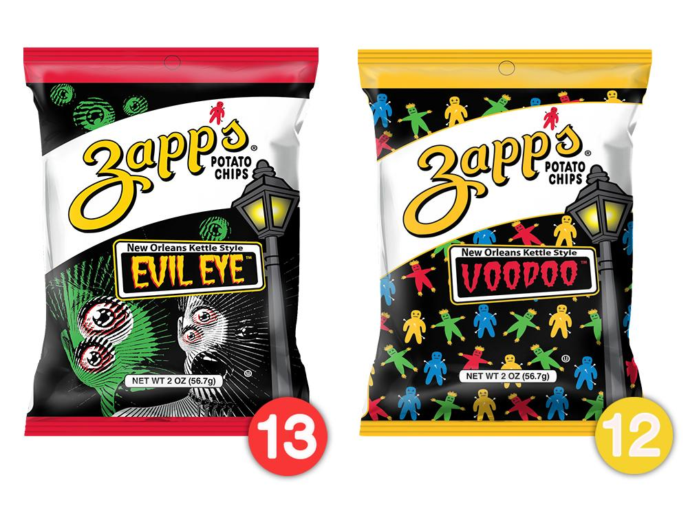 Zapp's Kettle Potato Chips Variety Pack, Evil Eye & Voodoo