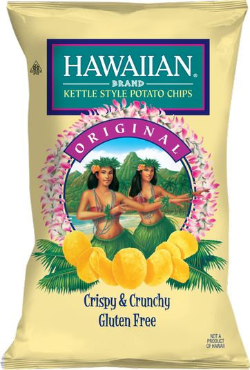 Hawaiian Brand Kettle Chips, Original Kettle Chips Hawaiian Brand