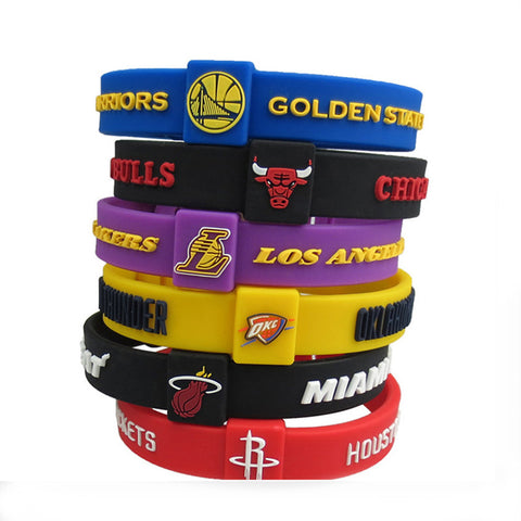 Official NBA Basketball Team Bracelets - UmeroSports
