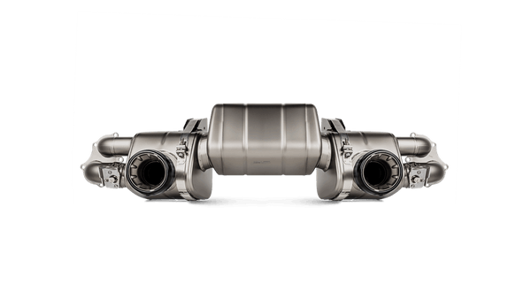 Akrapovic exhaust system for Porsche Cayman GT4