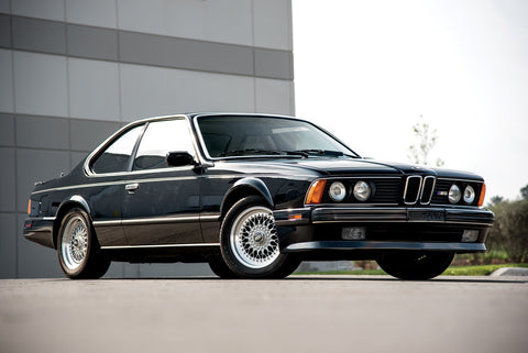 Grey BMW 630CSi
