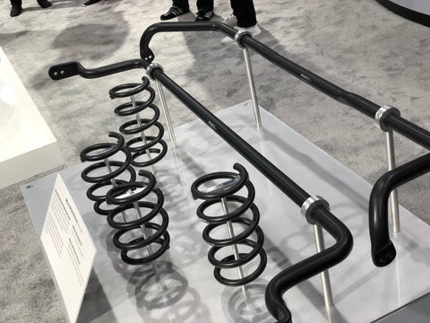 eibach springs and sway bars at sema show