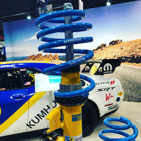 bilstein coilover at sema show