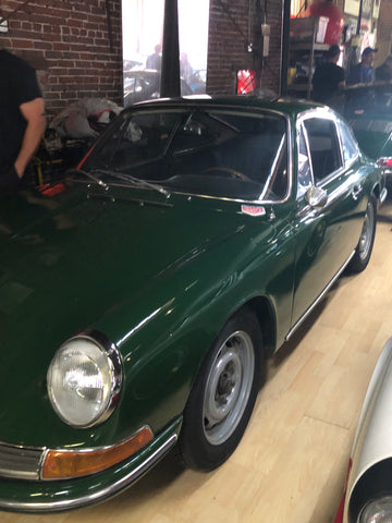 magnus walkers green 1966 porsche 911