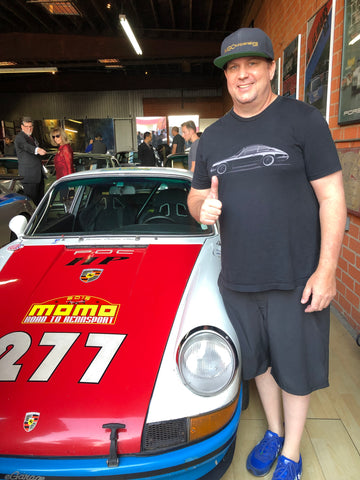 me and the 277 magnus walker car