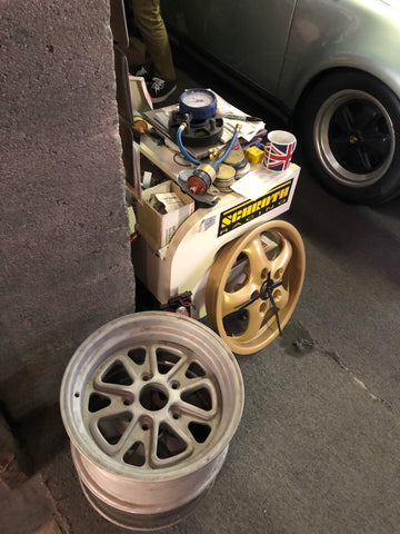 magnus walker wheel and misc parts