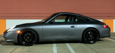porsche 996 in seal grey
