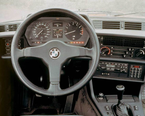 BMW E24 steering wheel