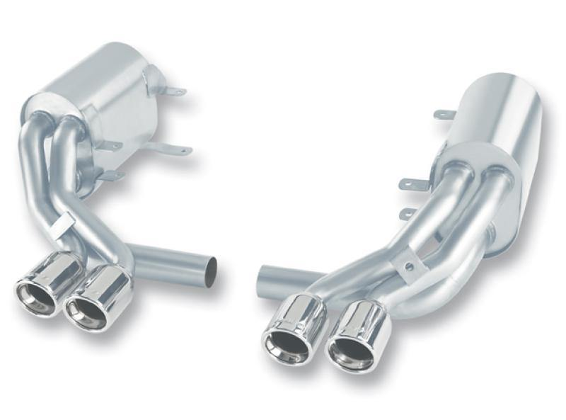 Borla 05-08 Porsche 911 Carrera 3.6L 6cyl AT/MT RWD SS Catback Exhaust - MGC Suspensions