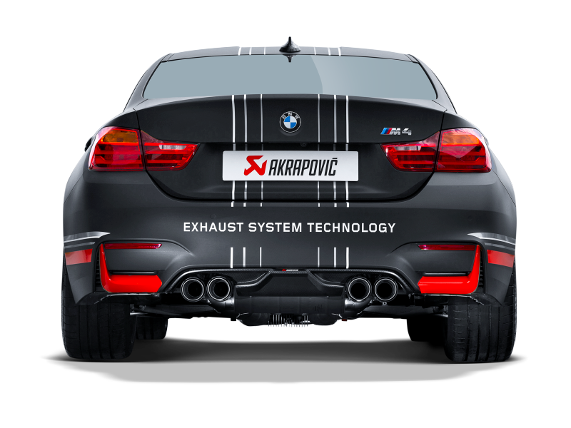 Akrapovic 2014-17 BMW M4 (F82 F83) Rear Carbon Fiber Diffuser-Matte Black - MGC Suspensions