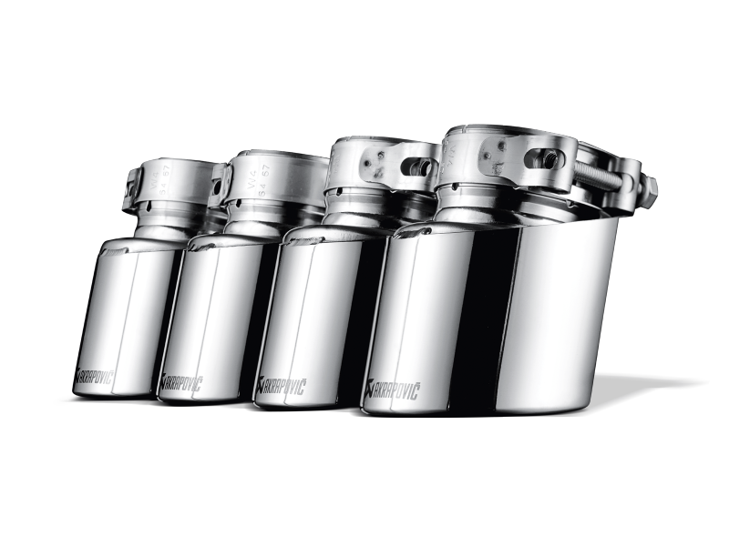 Akrapovic 2009-14 BMW X5M (E70) Titanium Exhaust Tips - MGC Suspensions