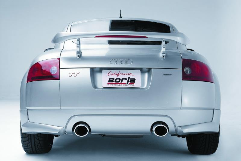Borla 01-06 Audi TT Quattro 1.8T 225HP MT AWD Single Split Rear Exit SS Catback Exhaust - MGC Suspensions