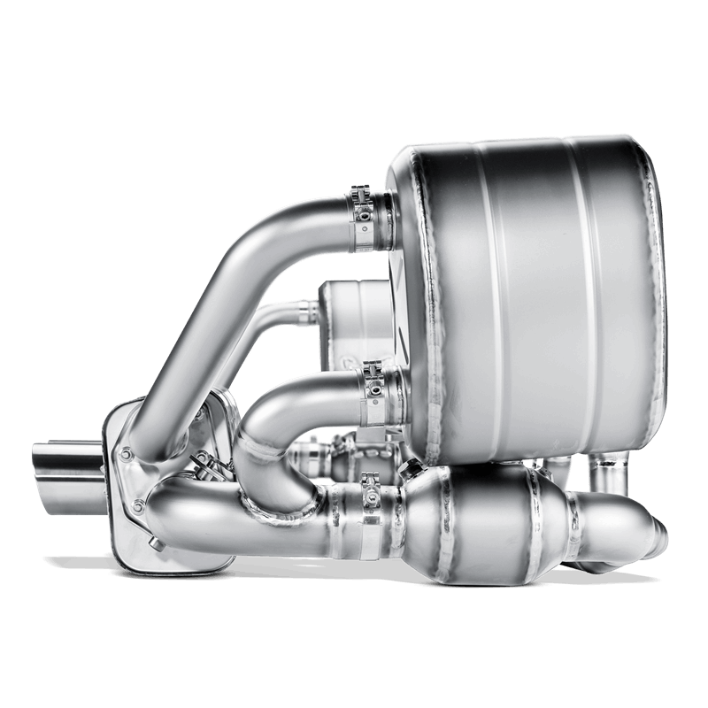 Akrapovic 2009-12 Porsche 911 GT3/GT3RS 3.8 Evolution Line Titanium Exhaust System with Headers - MGC Suspensions