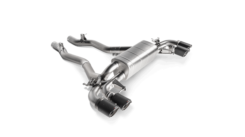 Akrapovic 2018 BMW M5 (F90) Slip-On Line Titanium Exhaust System. Tips Not Included. For OPF/GPF. - MGC Suspensions