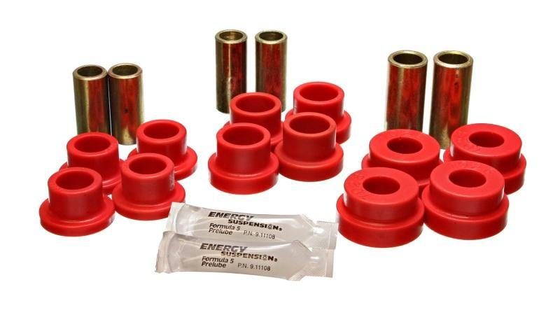 Energy Suspension 64-75 BMW 2002 Red Front Control Arm Bushing Set - MGC Suspensions