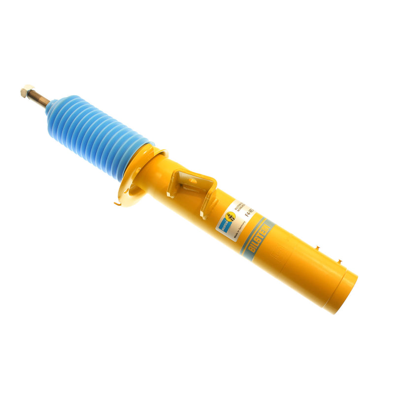 Yellow Bilstein brand front B6 strut assembly for BMW