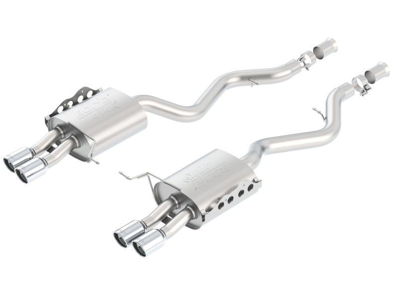 Borla 08-13 BMW M3 Coupe 4.0L 8cyl 6spd/7spd Aggressive ATAK Exhaust (rear section only) - MGC Suspensions