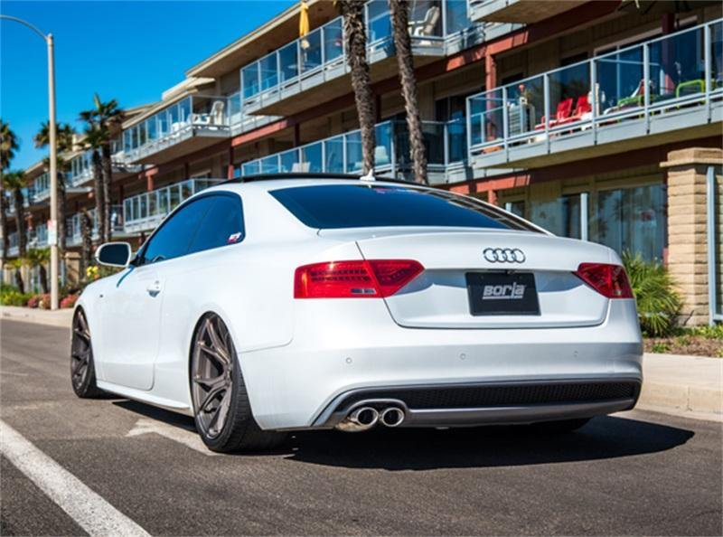 Borla 10-16 Audi B8/B8.5/A5 2.0L AT/MT AWD 2DR S-Type Catback Exhaust - MGC Suspensions