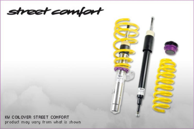 KW Street Comfort Kit Audi A6 (4F) Sedan; FWD + Quattro; all engines - MGC Suspensions