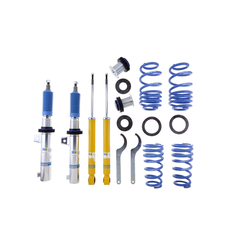 Bilstein B14 Coilover Kit for 2006-2018 Audi A3 and Volkswagen CC, Passat, Jetta, GTI, or Rabbit. (47-127708) - MGC Suspensions