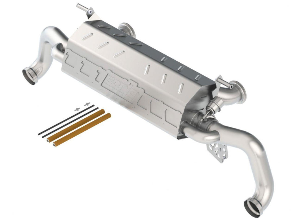 Borla S-Type Cat-Back Exhaust for 10-14 Audi R8 5.2L V10 AT RWD uses 3 inch Factory Tips - MGC Suspensions