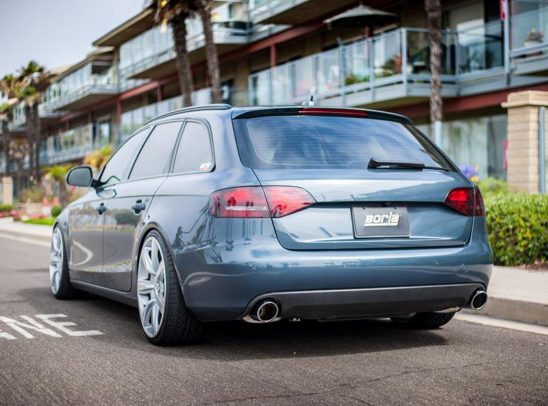 Borla 09-16 Audi A4 Avant / 13-16 Allroad Catback Exhaust S-Type Single Split Rear Exit - MGC Suspensions