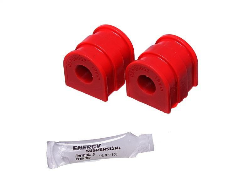 Energy Suspension 06-14 VW GTI/06-09 VW Rabbit Red 19.6mm Rear Sway Bar Bushing Set - MGC Suspensions