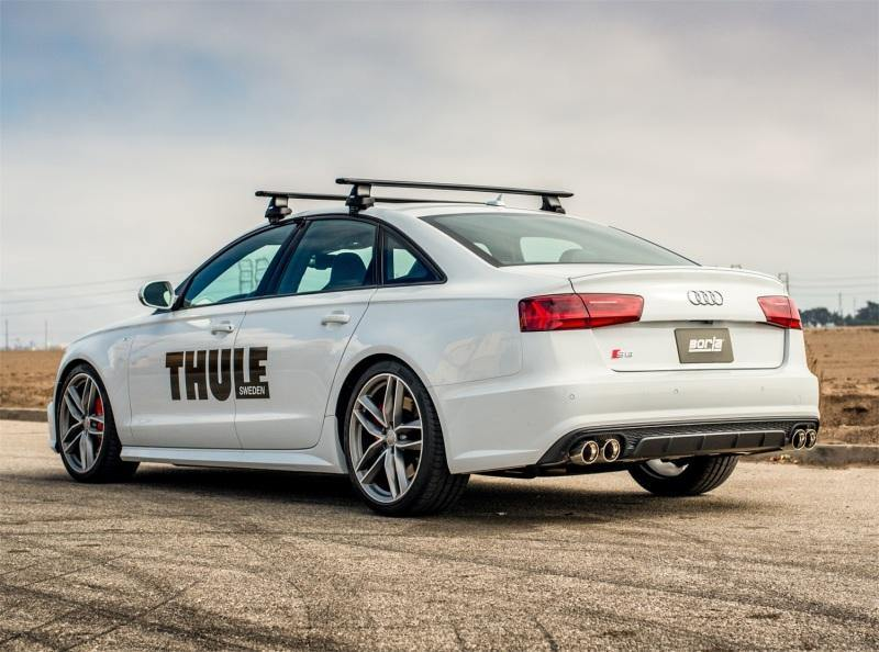 "Borla 13-18 Audi S6 4.0L AT Dual Split Exit S-Type Catback Exhaust. 3.5"" Tips. - MGC Suspensions"