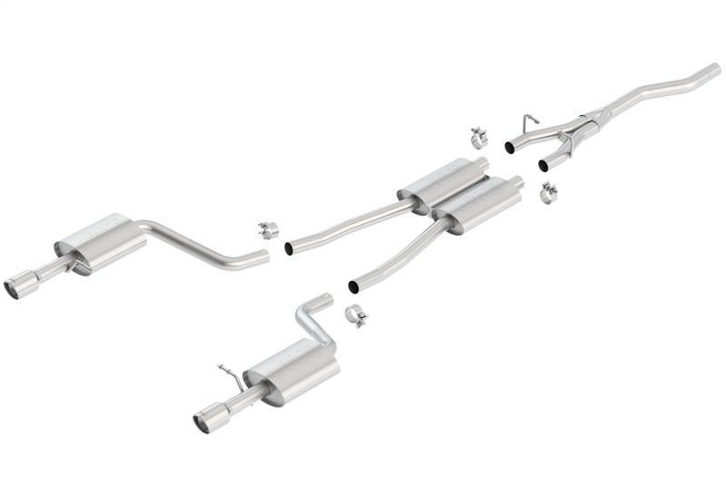 Borla Cat Back system for 02-08 Audi A4 Quattro 2.0L 4cyl - MGC Suspensions