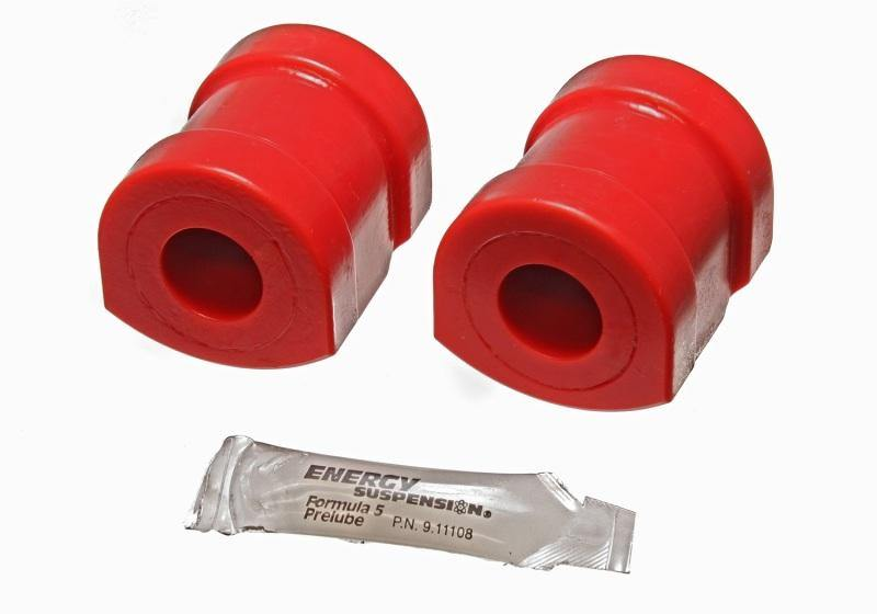 Energy Suspension 92-99 BMW 318I/325i/328I Red 25mm Front Sway Bar Frame Bushings - MGC Suspensions
