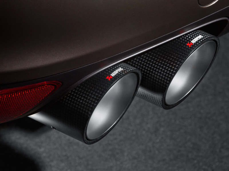 Akrapovic 2010-14 Porsche Cayenne (958) Carbon Fiber Exhaust Tips - MGC Suspensions