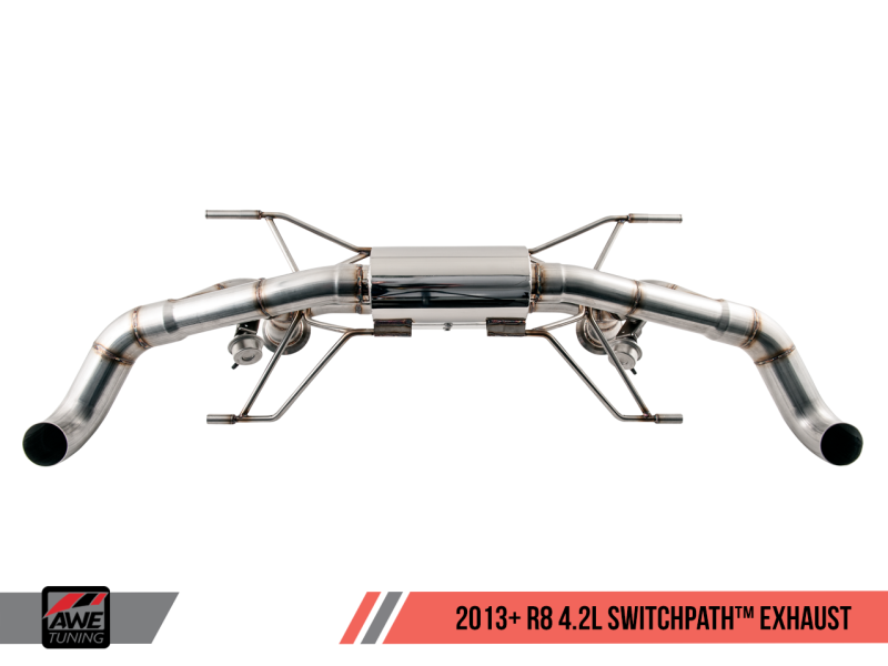 AWE Tuning Audi R8 4.2L Coupe SwitchPath Exhaust (2014+) - MGC Suspensions