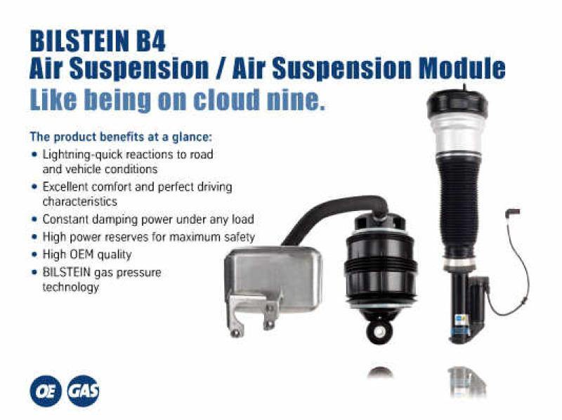 Bilstein B4 2007 Mercedes-Benz S550 Base Front Right Air Spring with Twintube Shock Absorber - MGC Suspensions