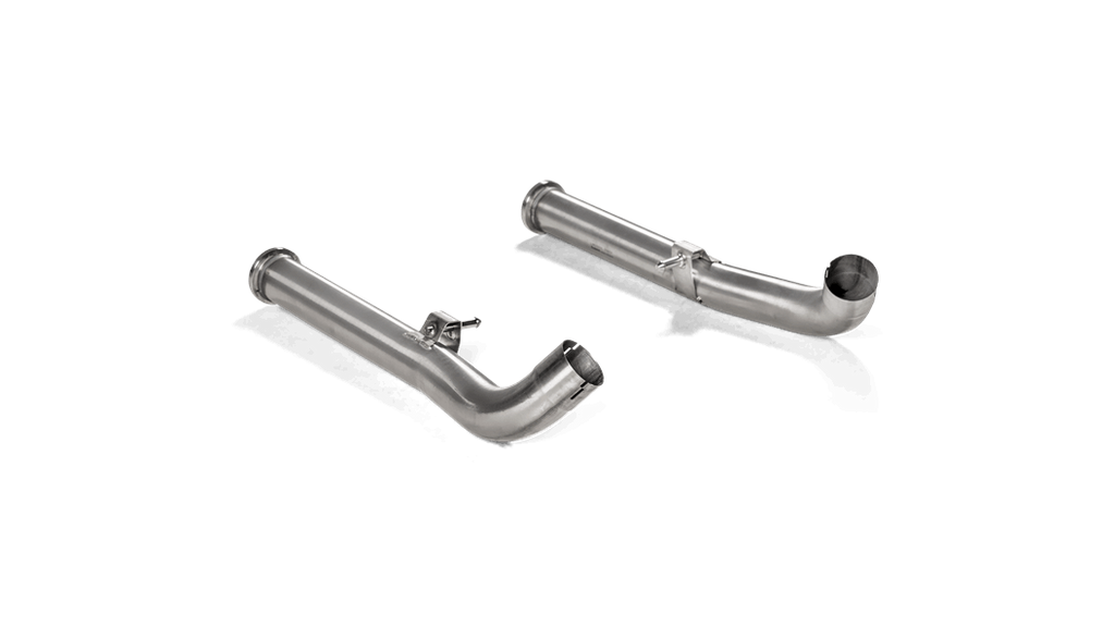 Akrapovic 2019 Mercedes-Benz G63 AMG Link Pipe Set for OPF/GPF - MGC Suspensions
