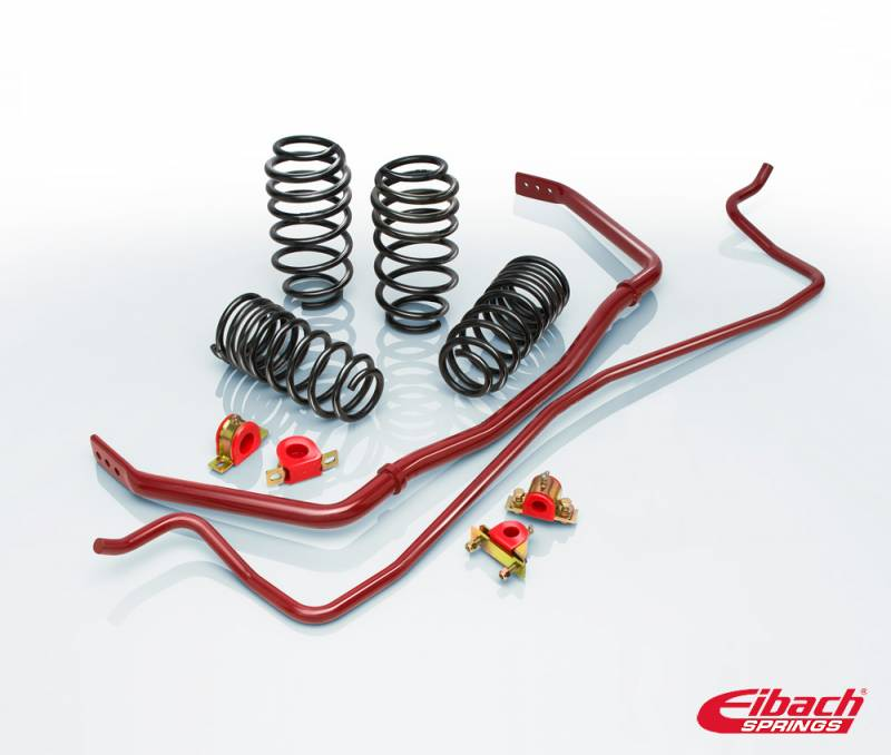 Eibach brand lowering spring and sway bar kit for Volkswagen Jetta and GTI