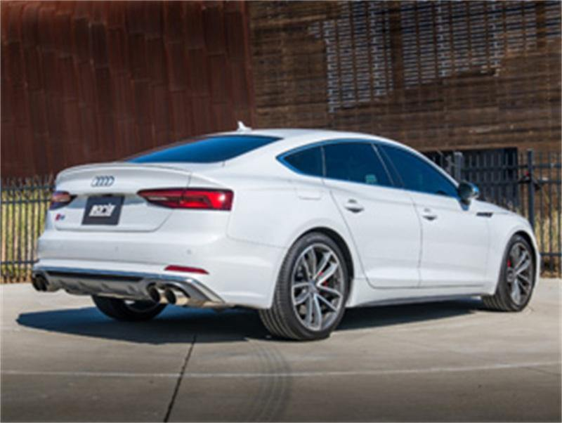 Borla 2018 Audi S5 Sportback 3.0L Turbo AT AWD 4DR SS S-Type Catback Exhaust Brushed Tip - MGC Suspensions