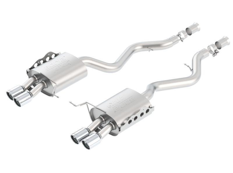 Borla 08-11 BMW M3 Sedan 4.0L 8cyl 6spd/7spd Aggressive ATAK Exhaust (rear section only) - MGC Suspensions