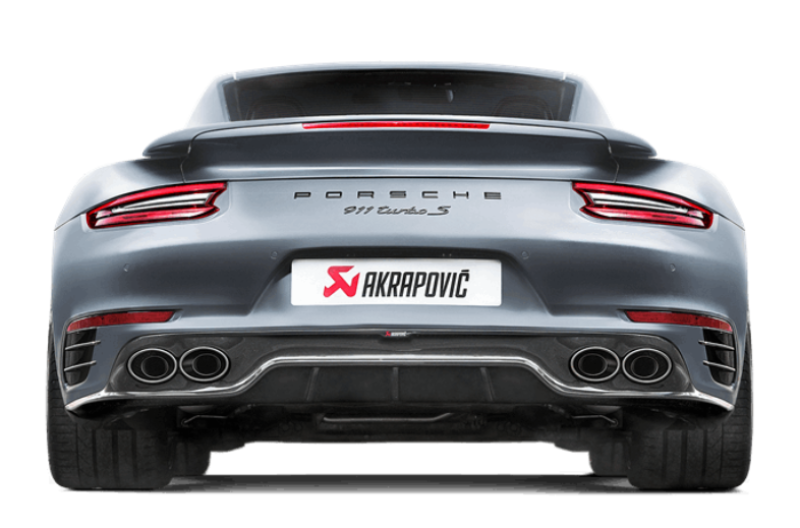 Akrapovic 2016-17 Porsche 911 Turbo/Turbo S (991.2) Rear Carbon Fiber Diffuser - High Gloss - MGC Suspensions