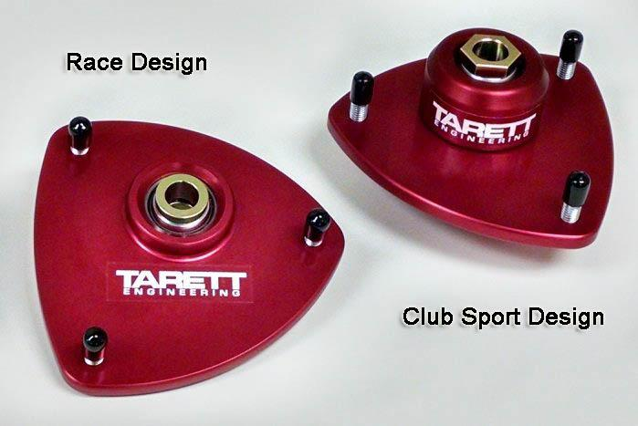 Tarett Front Monoball Camber Plate Kit for Porsche 991, 981 and 718.  911, Boxster, and Cayman. - MGC Suspensions