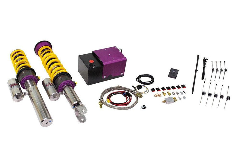 KW HLS2 Front Hydraulic Lift System for Porsche 911 (997). Includes V3 Coilovers. - MGC Suspensions