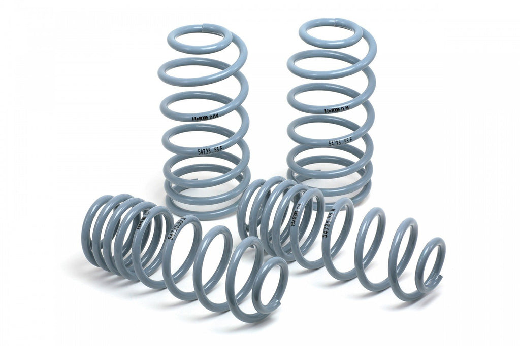 "H&R 1"" Lowering Spring Kit for 1985-1991 BMW E30 3-series (50404-55) - MGC Suspensions"
