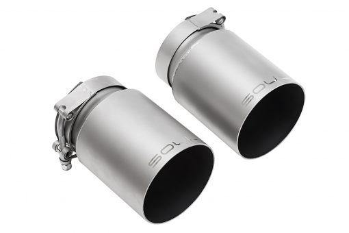 Porsche 991.2 Carrera (with Porsche Sport Exhaust) Bolt On Exhaust Tips - MGC Suspensions