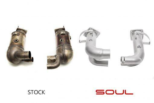 SOUL Performance Porsche 991.2 Carrera (with Porsche Sport Exhaust) Cat Bypass Pipes - MGC Suspensions