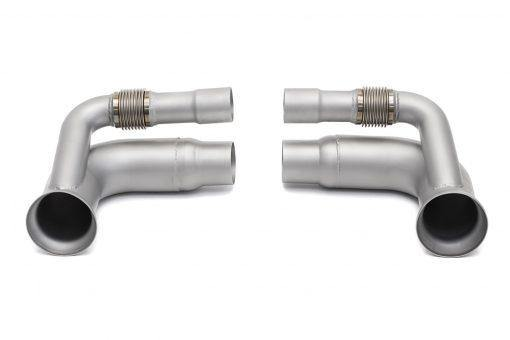 SOUL Performance Porsche 991 GT3 or 911R Side Muffler Bypass Pipes - MGC Suspensions