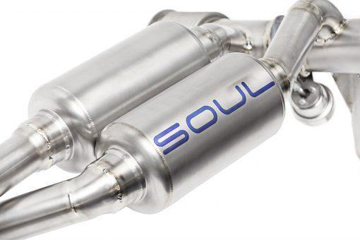 SOUL Performance Lamborghini Huracan Performante Titanium Valved Exhaust System - MGC Suspensions