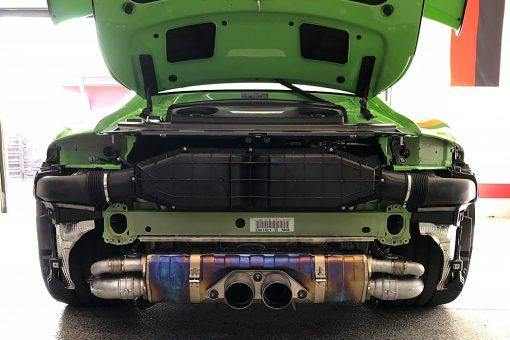 SOUL Performance Porsche 991 GT3 / 911R Valved Side Muffler Bypass Pipes - MGC Suspensions